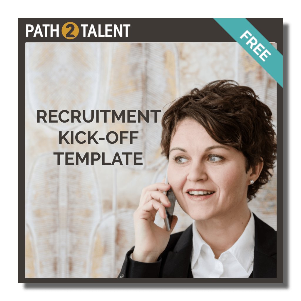 Free Recruitment Kick-Off Template